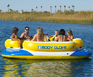 6 Person Float With Speake...