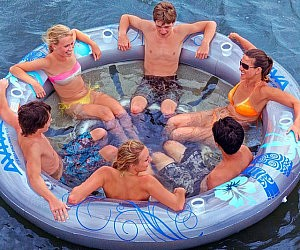 Six Person Inflatable Lounger