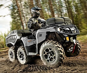 Six Wheel ATV