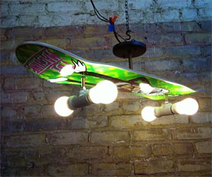 Skateboard deck lamp aloadofball Gallery