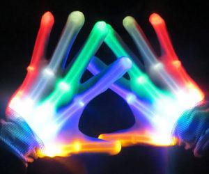 Skeleton LED Gloves