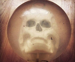 Skull Bowling Ball