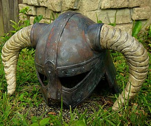 Skyrim Dovahkiin Iron Helmet