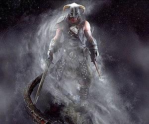 Skyrim Dragonborn Statue