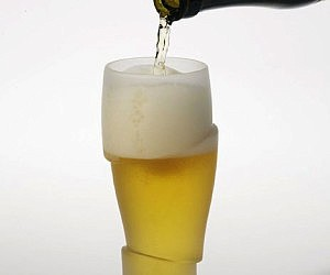 Sliced Beer Glasses