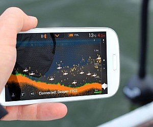 Smartphone Connected Fish Finder