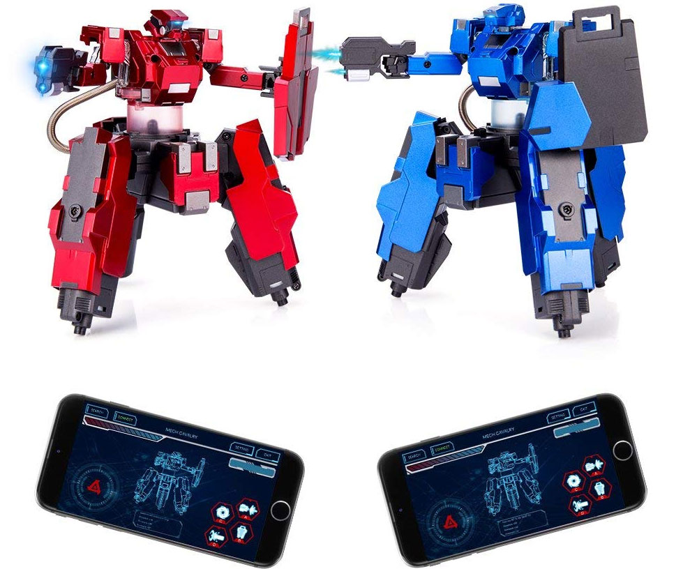 Smartphone Controlled Battle Bots