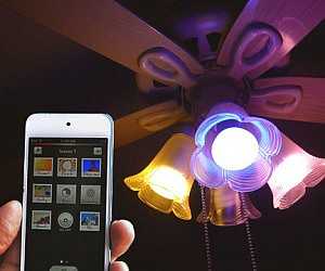 Smartphone Controlled Light Bulbs