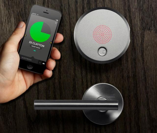 Amp Keyless Door Lock