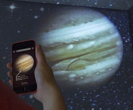 Smartphone Planetarium Projector