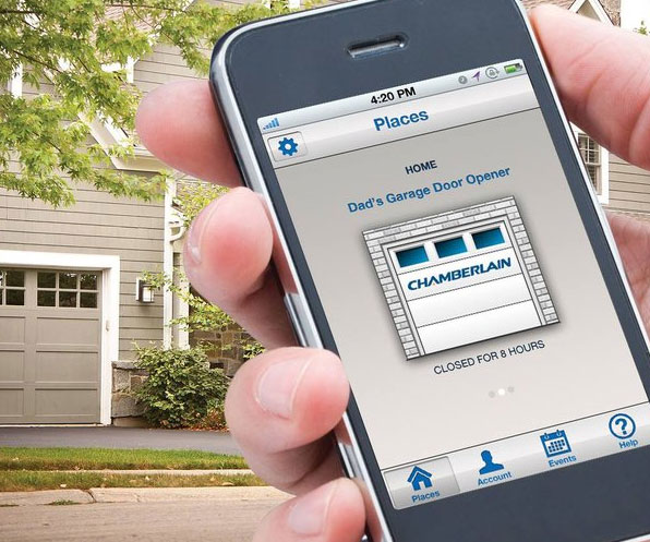 Smartphone Garage Door Remote