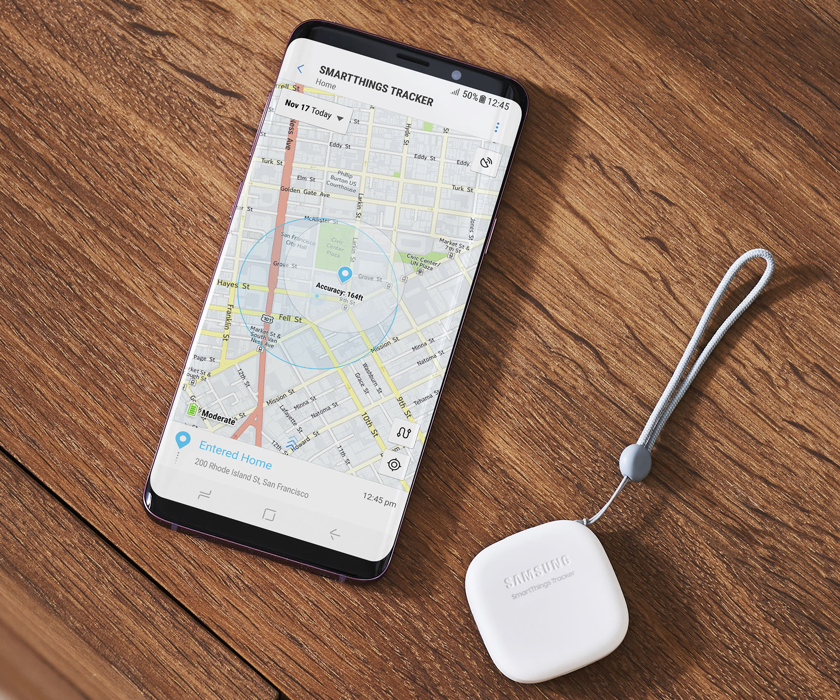 SmartThings Real Time Tracking Device