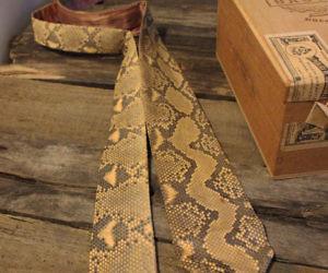 567bd7b743a The Snakeskin Necktie