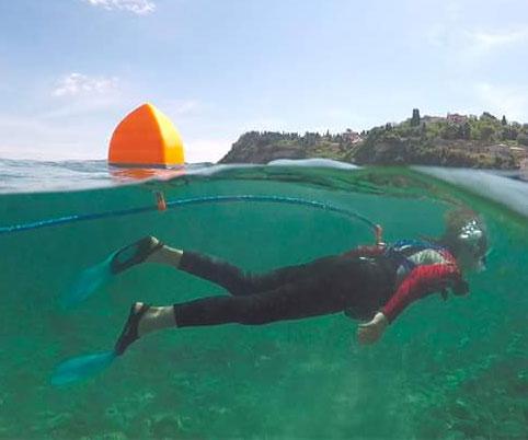 Hybrid SCUBA/Snorkel System