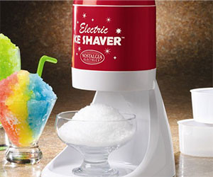 Electric Snow Cone Maker