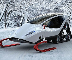 Snow Crawler Snowmobile