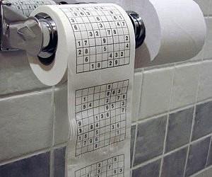 gold flake toilet paper. Sudoku Toilet Paper Gold