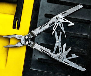 Multi-Tool Nose Pliers Pocket Knife