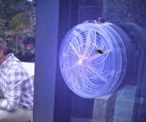 Photonic Fence Laser Bug Zapper