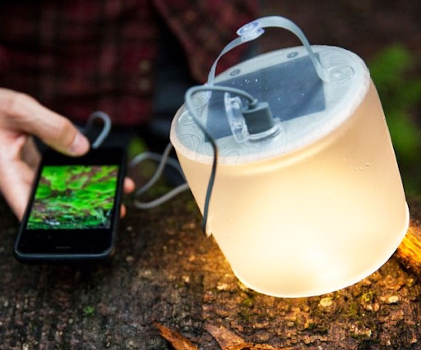 Inflatable Solar Lantern & Charger