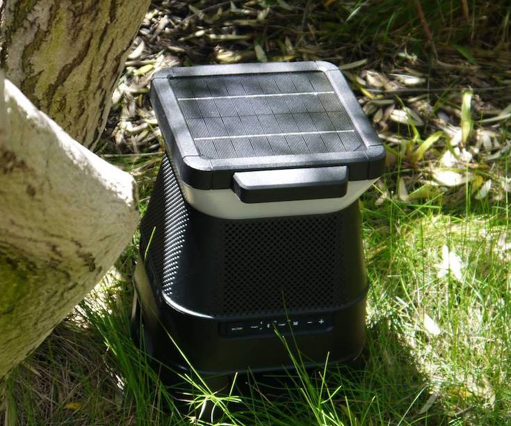 Solar Powered Bluetooth Speaker