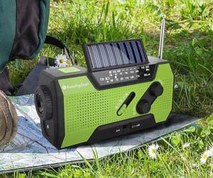 Solar Crank Emergency Stat...