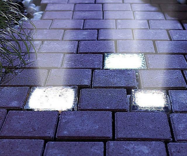 Solar powered light up bricks aloadofball Images
