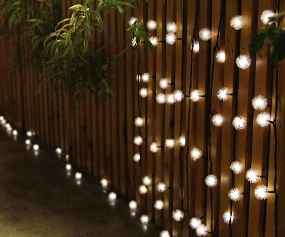 Solar Powered LED String Lights