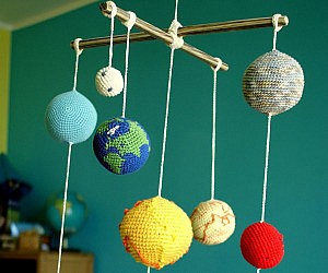 Solar System Planets Baby Mobile