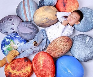 Good Solar System Pillow Set