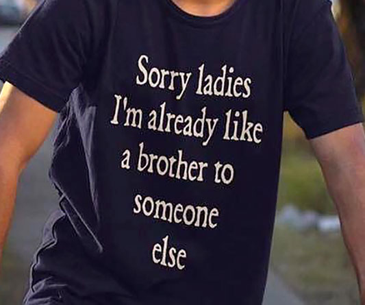 Sorry Ladies Friend Zone Shirt