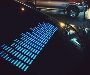 Sound Activated Car Stickers