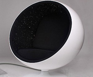Space Constellations LED Chair