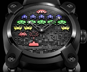 Space Invaders Wrist Watch
