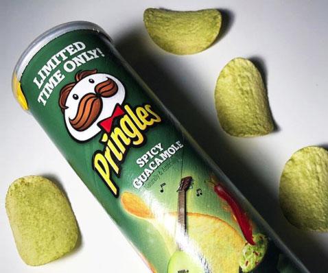 Spicy Guacamole Pringles