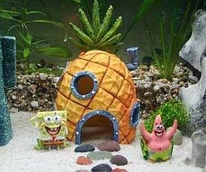 spongebob aquarium ornaments