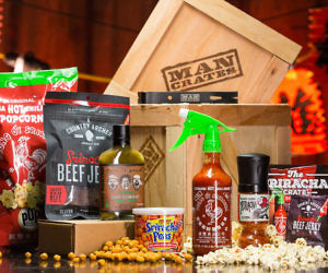 Sriracha Man Crate