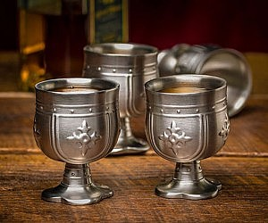 Medieval Chalice Shot Glasses