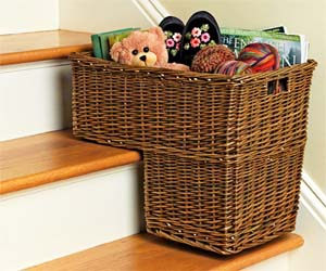 Staircase Basket
