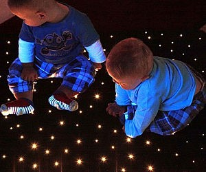 Light Up Star Carpet