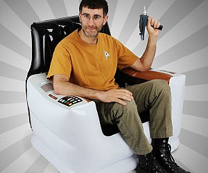Inflatable Star Trek Capta...