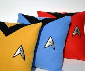 Image result for star trek voyager throw cushions