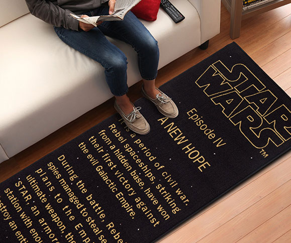 A New Hope Title Crawl Floor Runner