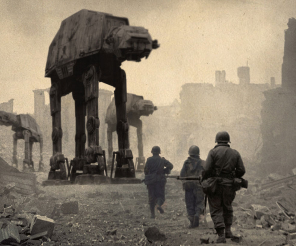 Star Wars American History Prints