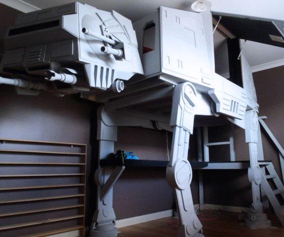 Star Wars AT-AT Bunk Bed
