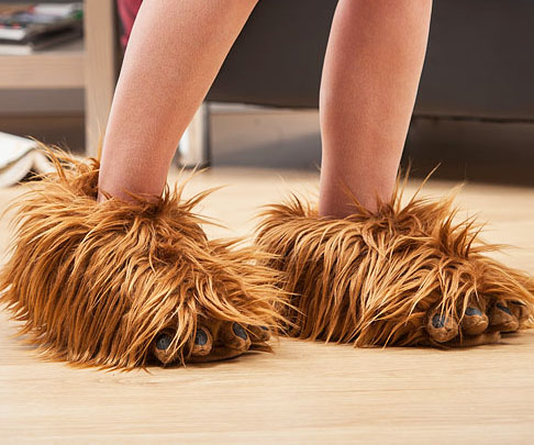 8aed5d06cc46 Star Wars Chewbacca Slippers