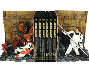 Star Wars Compactor Bookends