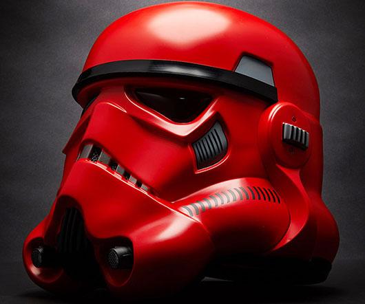 Crimson Stormtrooper Helmet Replica