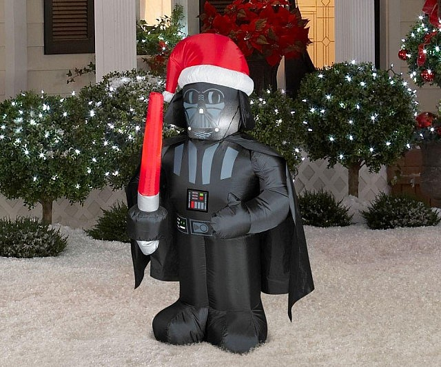 star wars christmas lawn decorations