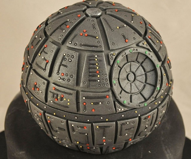 Star Wars Death Star Fire Pit Part - 48: Star Wars Death Star Cake